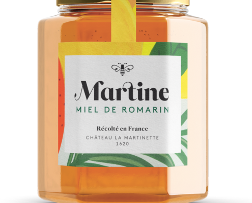 miel martine miel de romarin
