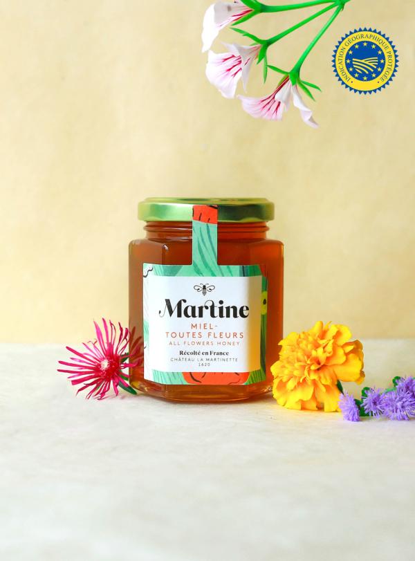 miels toutes fleurs miel martine