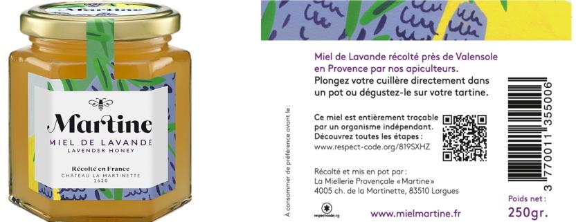 Miel Martine reçoit une mention spéciale au French Innovation Corner à l'ISM  (Cologne).