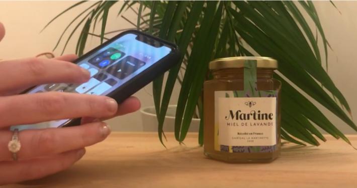 traçabilité miel martine