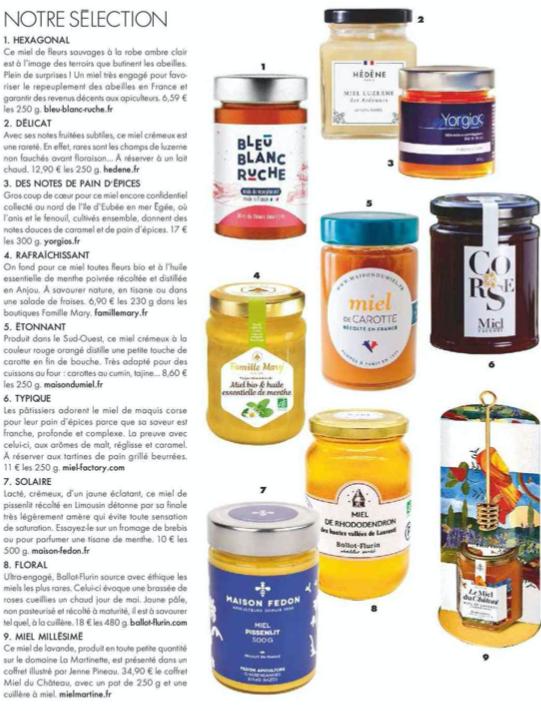 Notre miel produit par nos abeilles