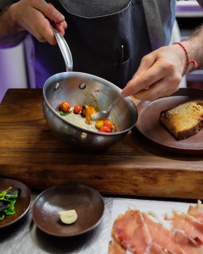Recette Pan Con Tomate: Miel Martine dans le Magazine AD