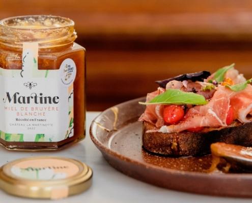 Recette Pan Con Tomate et Miel de Bruyère Blanche